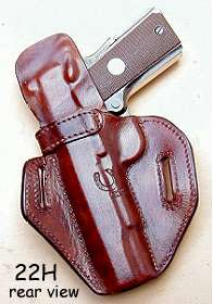 holster 22H rear view