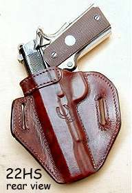 holster 22HS rear view
