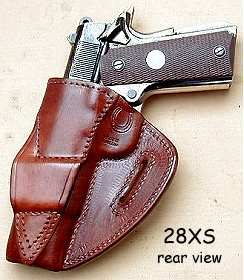 holster #28XS rear view