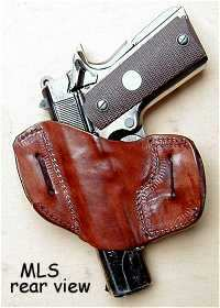 holster MLS rear