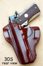 holster #30S rear view