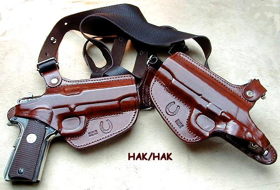 Double shoulder holster